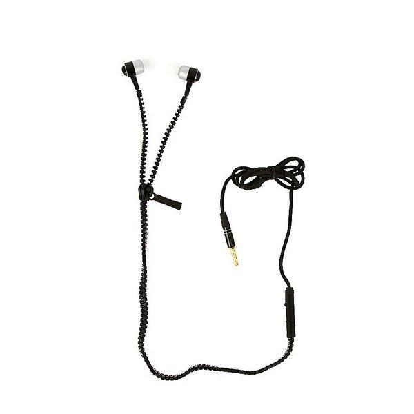 Fone Ouvido Intra-auricular Zíper c/ Microfone Inova FON-10050