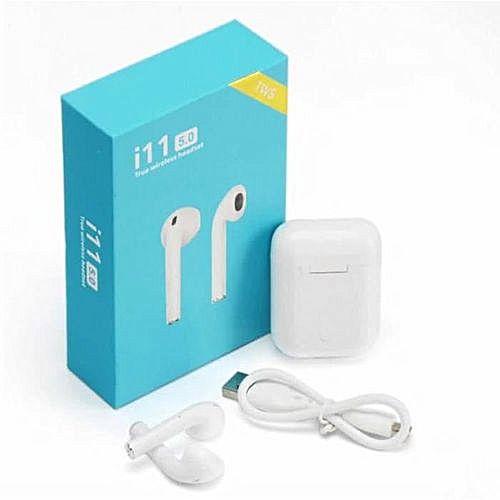 Fones De Ouvido Sem Fio Bluetooth i11 TWS