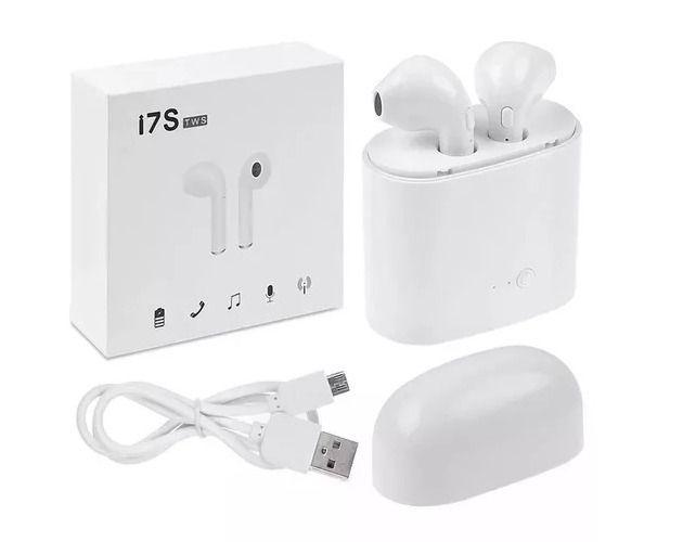 Fones De Ouvido Sem Fio Bluetooth i7s TWS