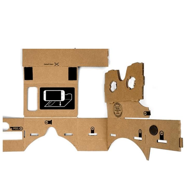 Google Cardboard - Óculos de Realidade Virtual 3D