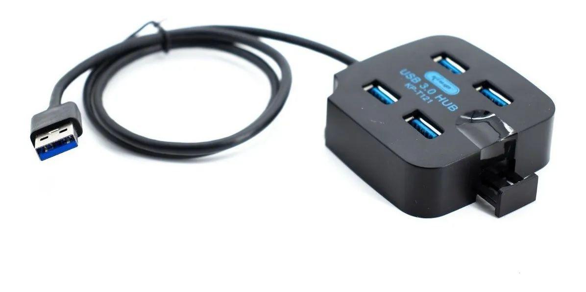 Hub Usb 3.0 4 portas KP-T121 Knup