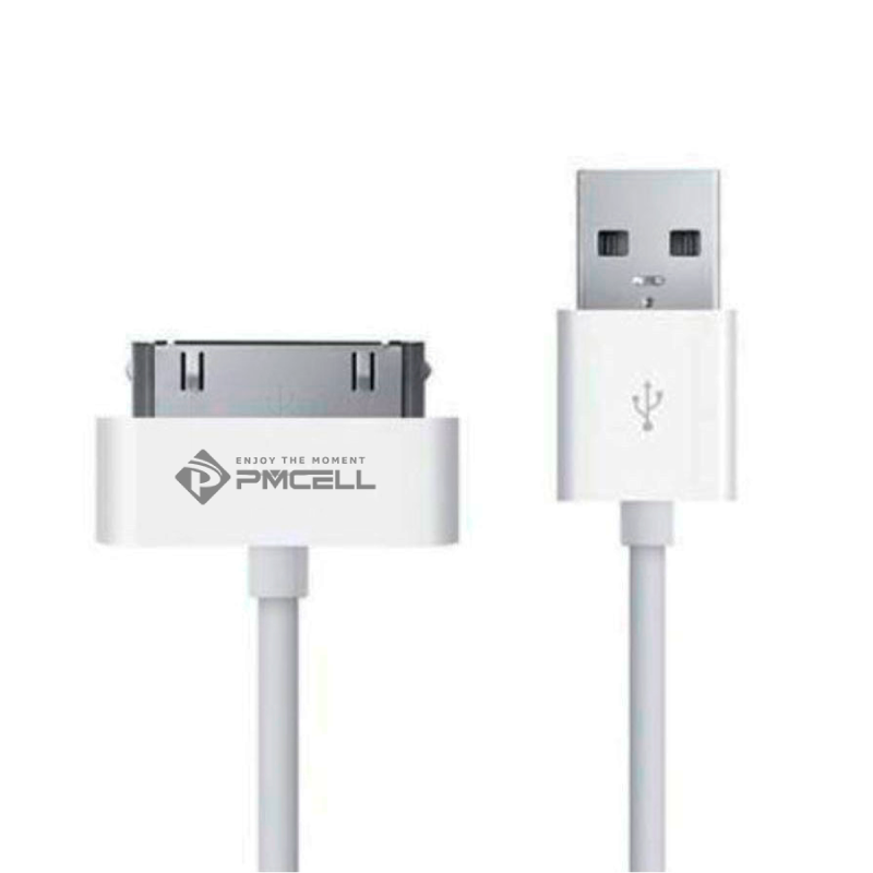 Kit 10 CABO USB 30PIN PREMIUM PMCELL SOLID302 CB-13