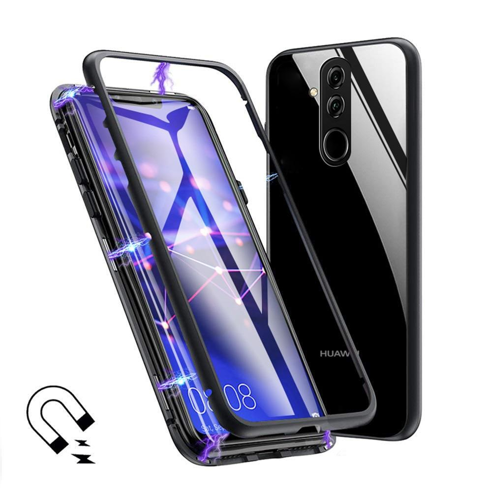 Kit 10 Capinha Case Magnética Luxo Premium C/ Vidro Traseiro Diversos Modelos