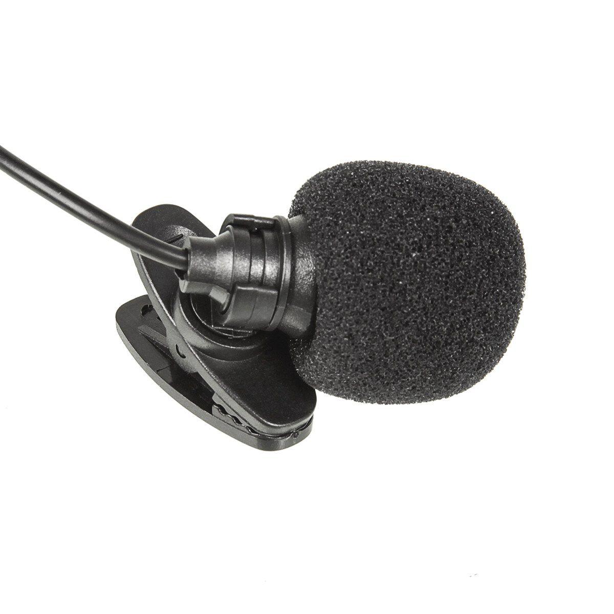 Kit 10 Mini microfone de Lapela KP-911