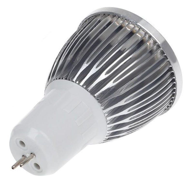 Kit 10 Spot Quadrado Alumínio MR16 + 10 Lampadas 5w Branco 12v