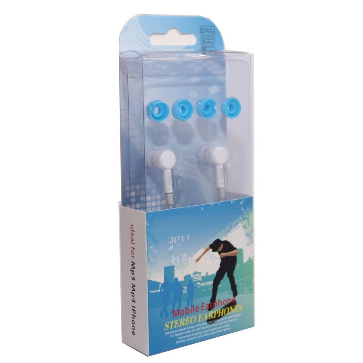 Kit 10x Fone Ouvido Intra-auricular c/ Microfone IP11 Branco Atacado
