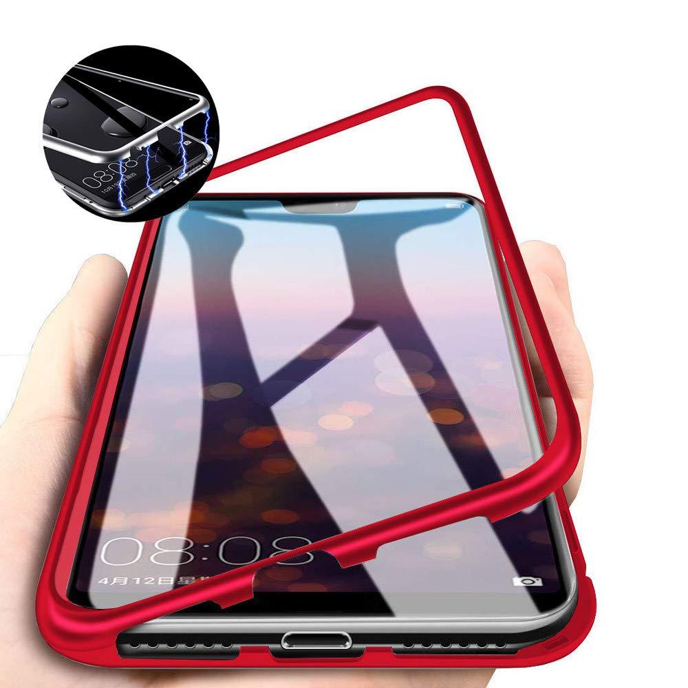 Kit 20 Capinha Case Magnética Luxo Premium C/ Vidro Traseiro Diversos Modelos