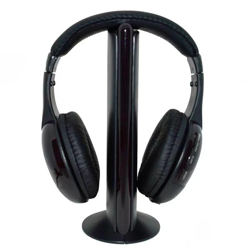 Kit 2x Fone de Ouvido Wireless FM 5 Em 1 Knup KP-323
