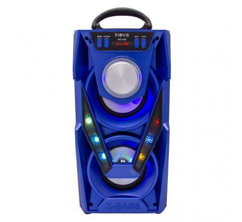 Kit 5 Caixas de Som e Rádio Portátil Inova RAD-1062