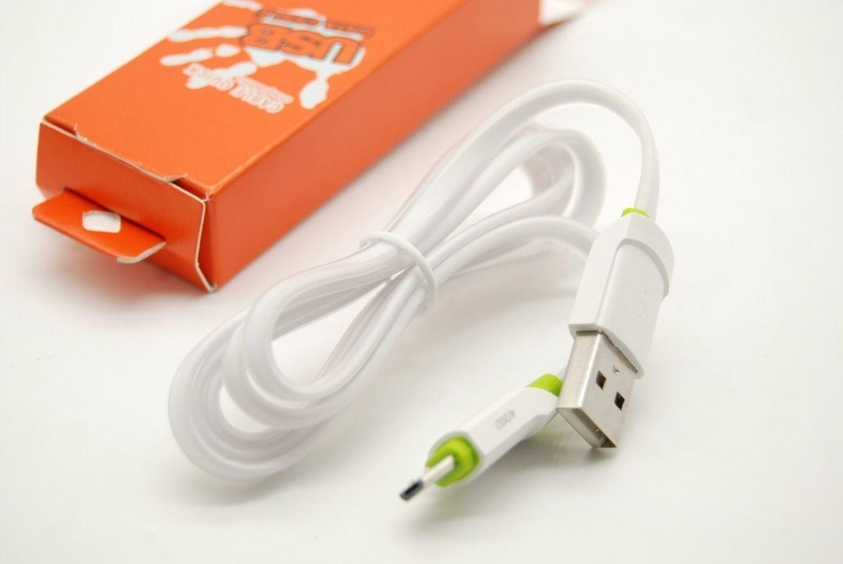Kit 5x Cabo de Dados USB | 1M V8 | Kaidi KD305