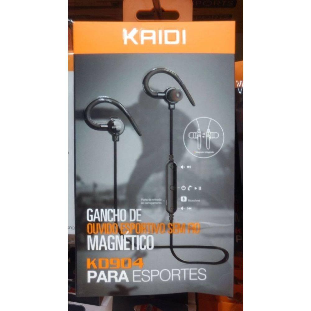 Kit 5x Fone de Ouvido Bluetooth C/ Microfone Sports Kaidi KD904