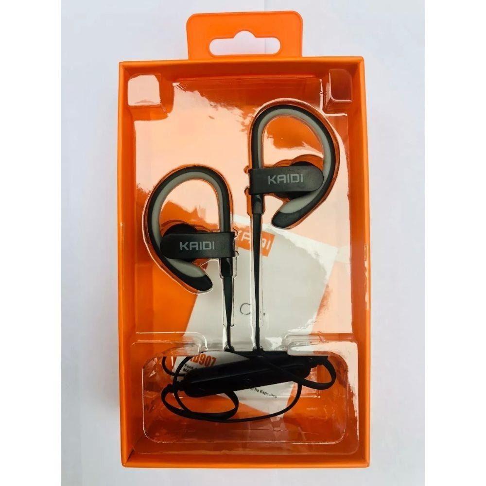 Kit 5x Fone de Ouvido Bluetooth C/ Microfone Sports Kaidi KD907