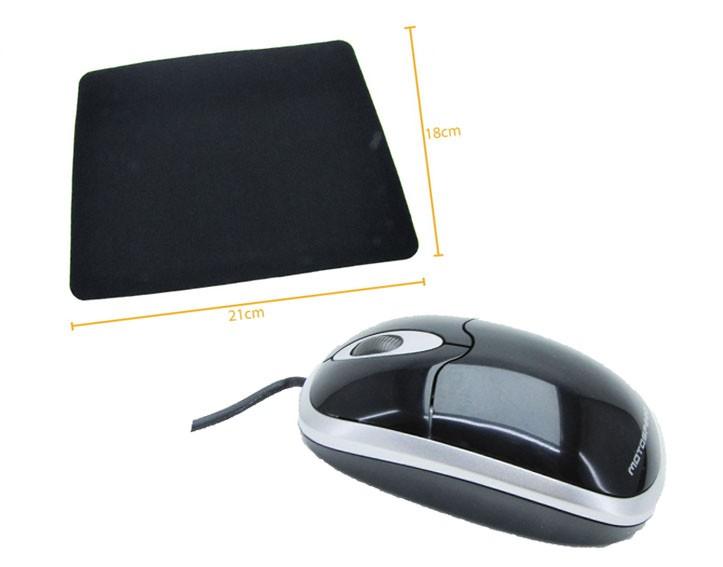 Kit 6: Mouse Optico F303 R8 + Mousepad Antiderrapante Oletech