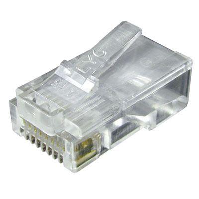 Kit Alicate Crimpar Rj45 + Testador Rj45 + 100 Conectores RJ45 + 10 Emendas