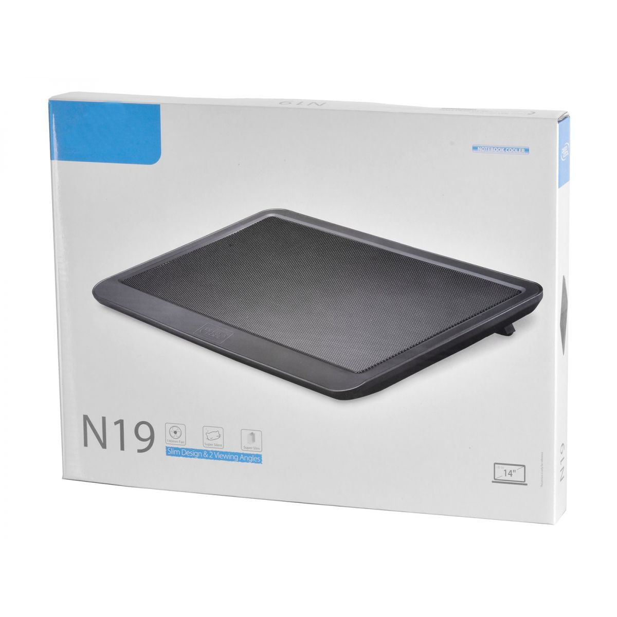 Kit Base Cooler Notebook N19 + Mouse Wireless Preto G370