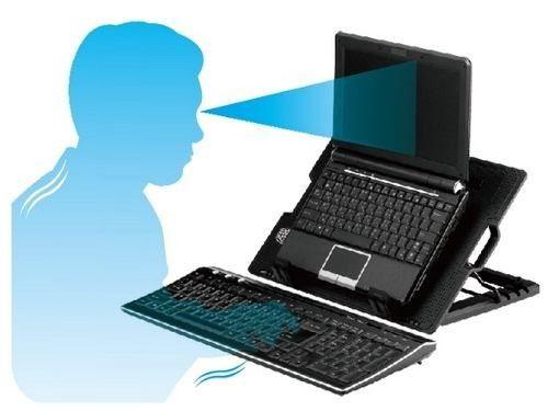 Kit Base Notebook M25 + Hub USB 4 + Case USB 3.0