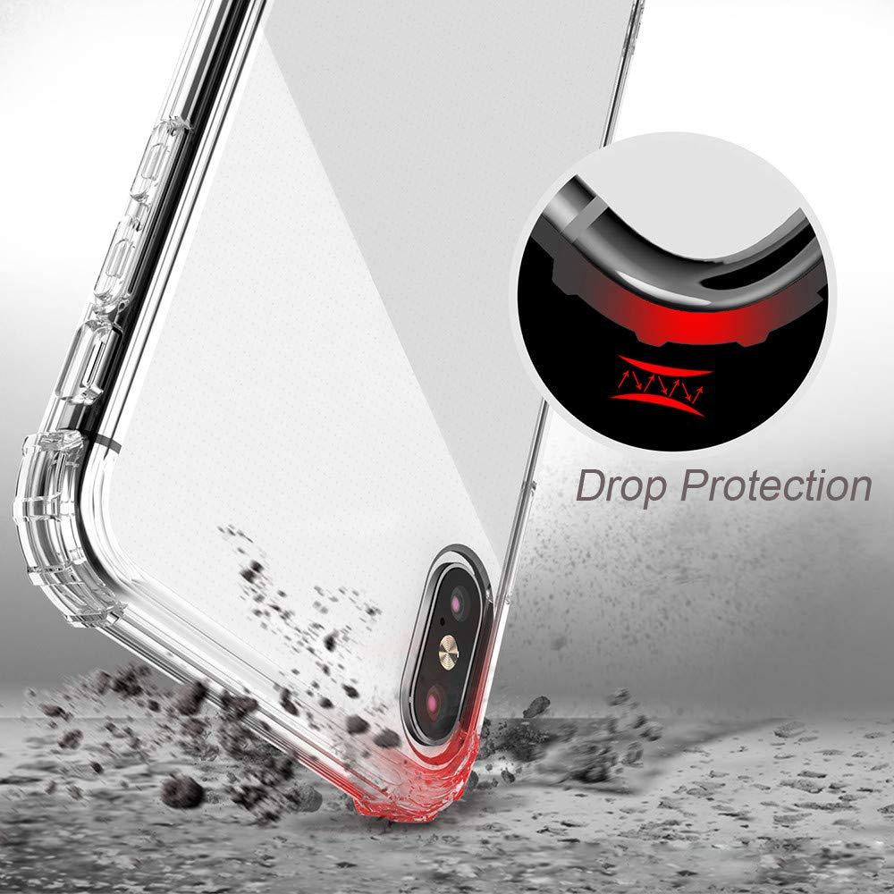 Kit Capinha Anti-Shock Transparente  + Popsocket Preto C/ Suporte
