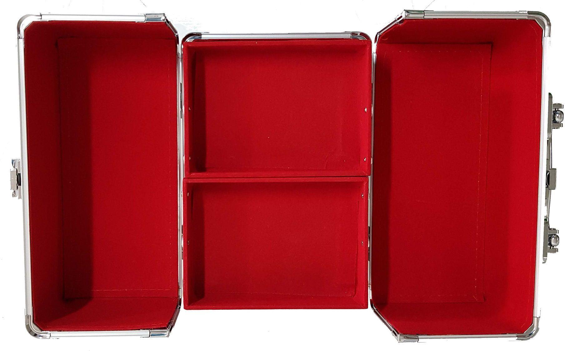 Kit Maleta Prata + Paleta Ruby Rose Perfect Me Iluminador Contorno HB 7509/L