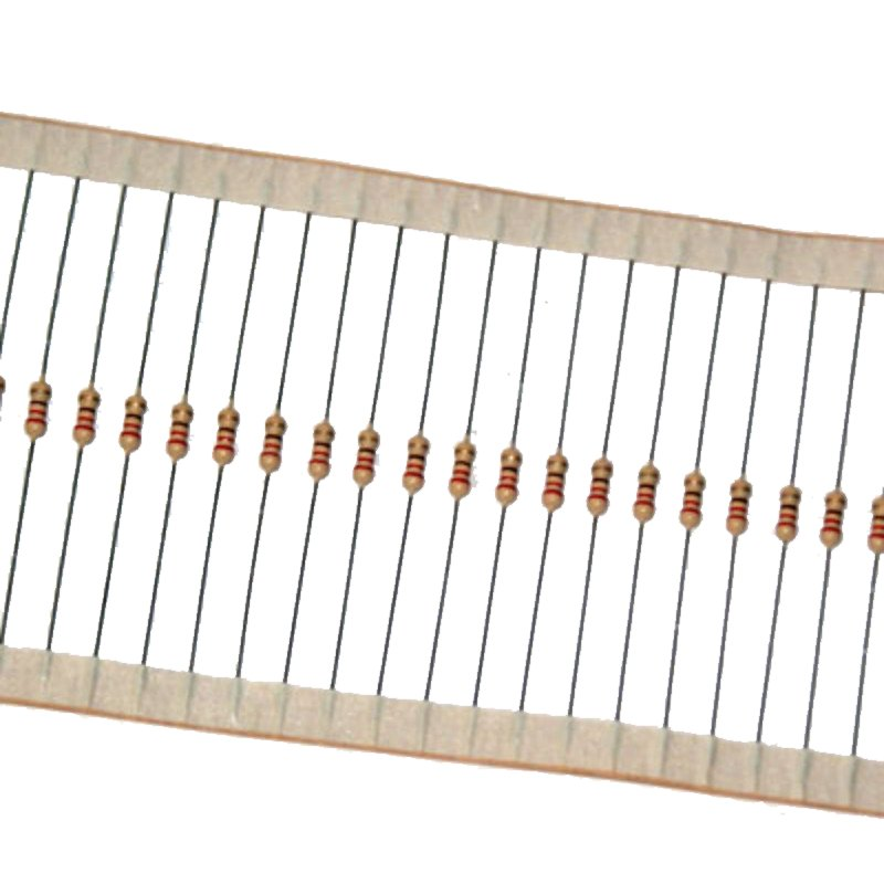 Led 5mm + Resistor (Pacote 1000un) Branco Puro
