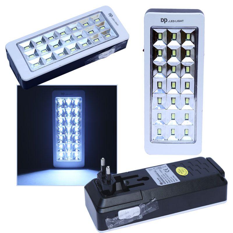 Luz De Emergência DP LED LIGHT DP-7075 21 SMD LEDs Bivolt