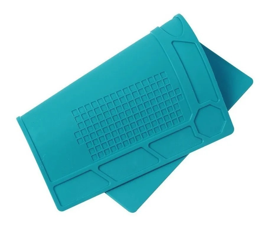 Manta Anti-estática Silicone Azul 320x230mm KP-AA015 - KNUP