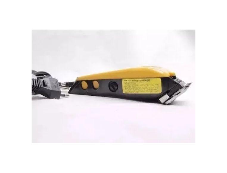 Maquina De Cabelo Barba Aparafor Profissional 127v Qirui QR-089