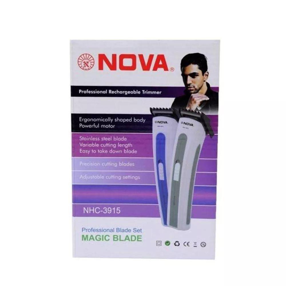 Maquina Aparador Barba E Cabelo NOVA Magic Blade NHC-3915