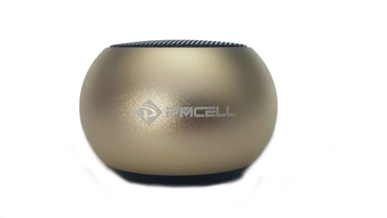 MINI CAIXA SOM BLUETOOTH WIRELESS PMCELL GO998 CS12