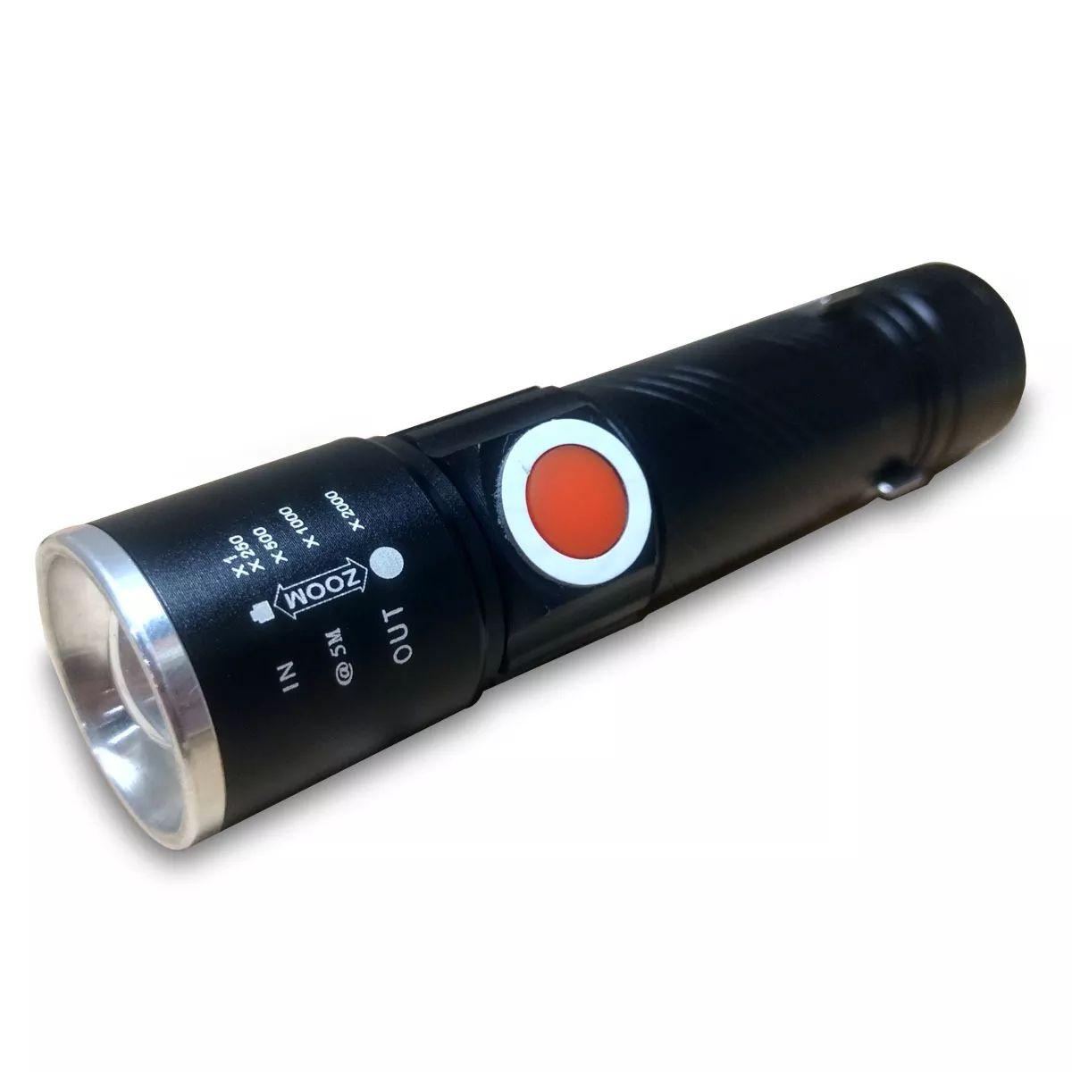Mini Lanterna USB LED 100M B-MAX BM-8411