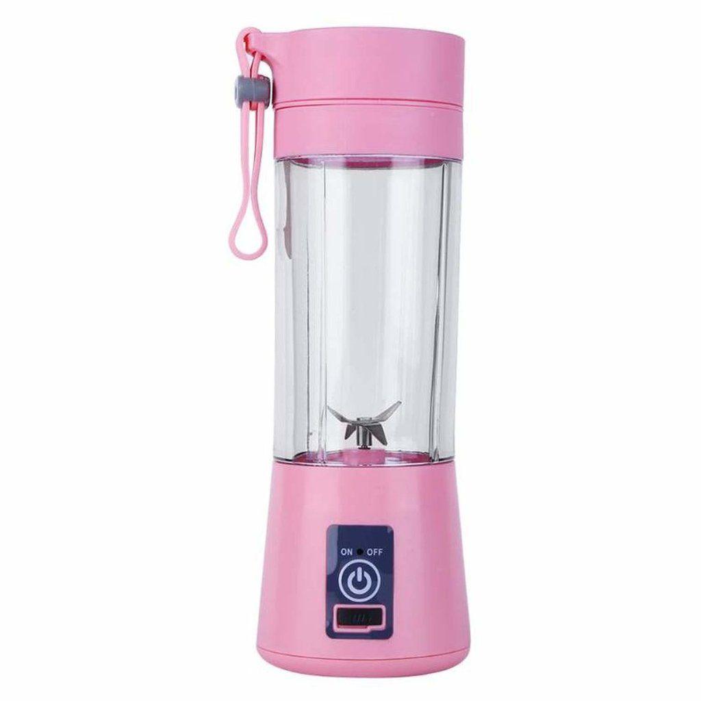 Mini Liquidificador Portátil USB Juice Cup Shake 4 Lâminas