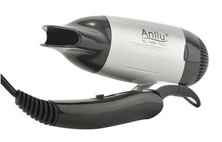 Mini Secador Cabelo Portátil YL-1455 Anliu