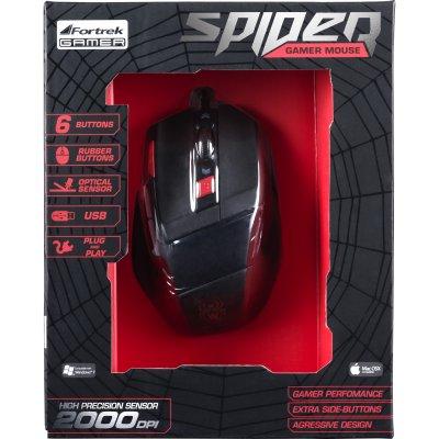 Mouse Fortrek Gamer Spider OM701 43532