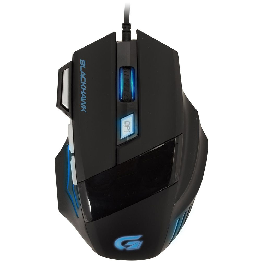 Mouse Gamer Fortrek Óptico USB Black Hawk 2400 dpi OM703 52013