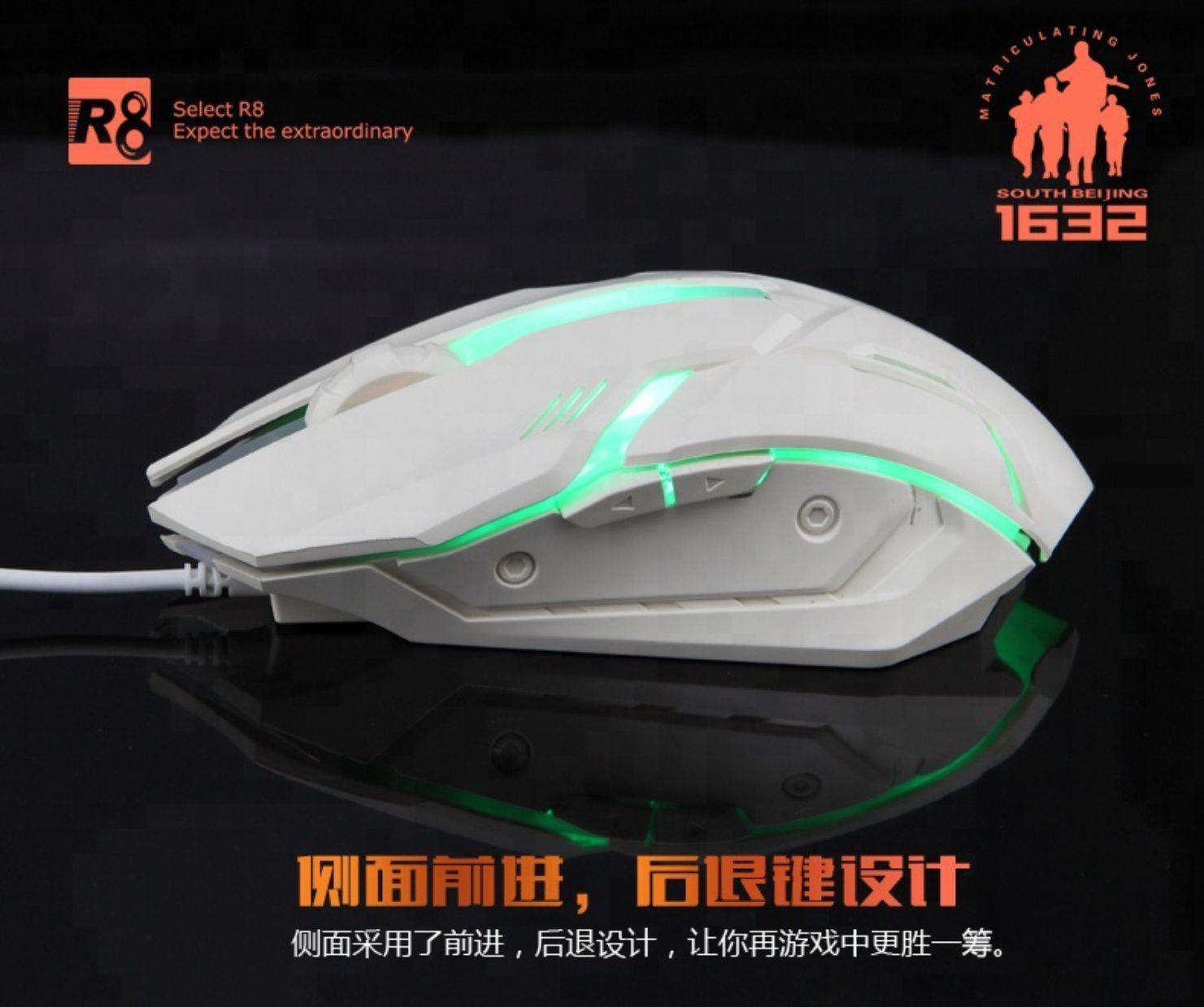 Mouse Gamer LED R8 M1632