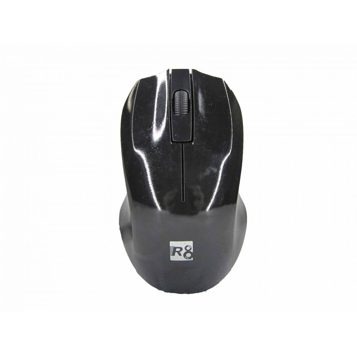 Mouse Optico 3D 1000DPI USB PRETO R8
