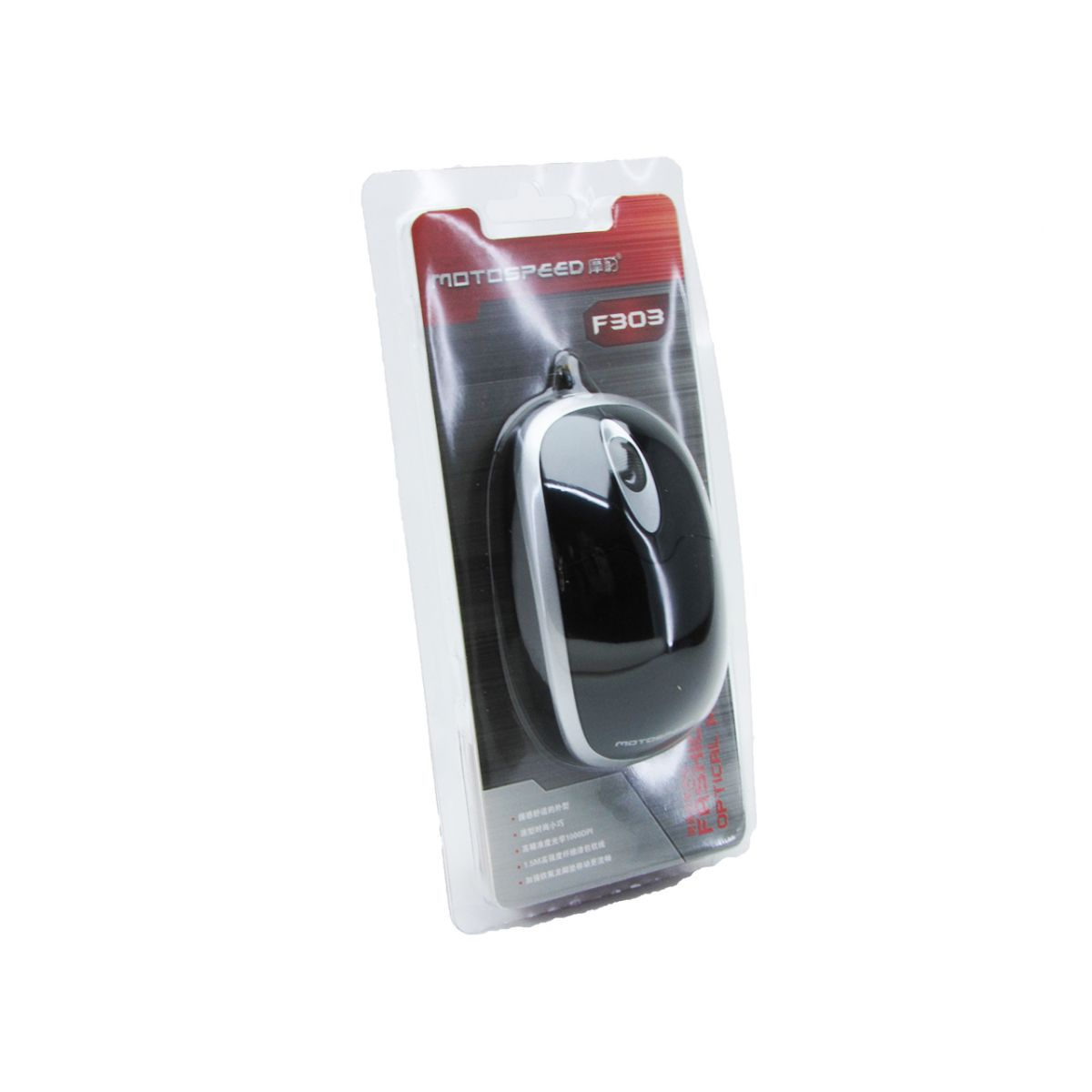 Mouse Óptico 3D F303 Motospeed