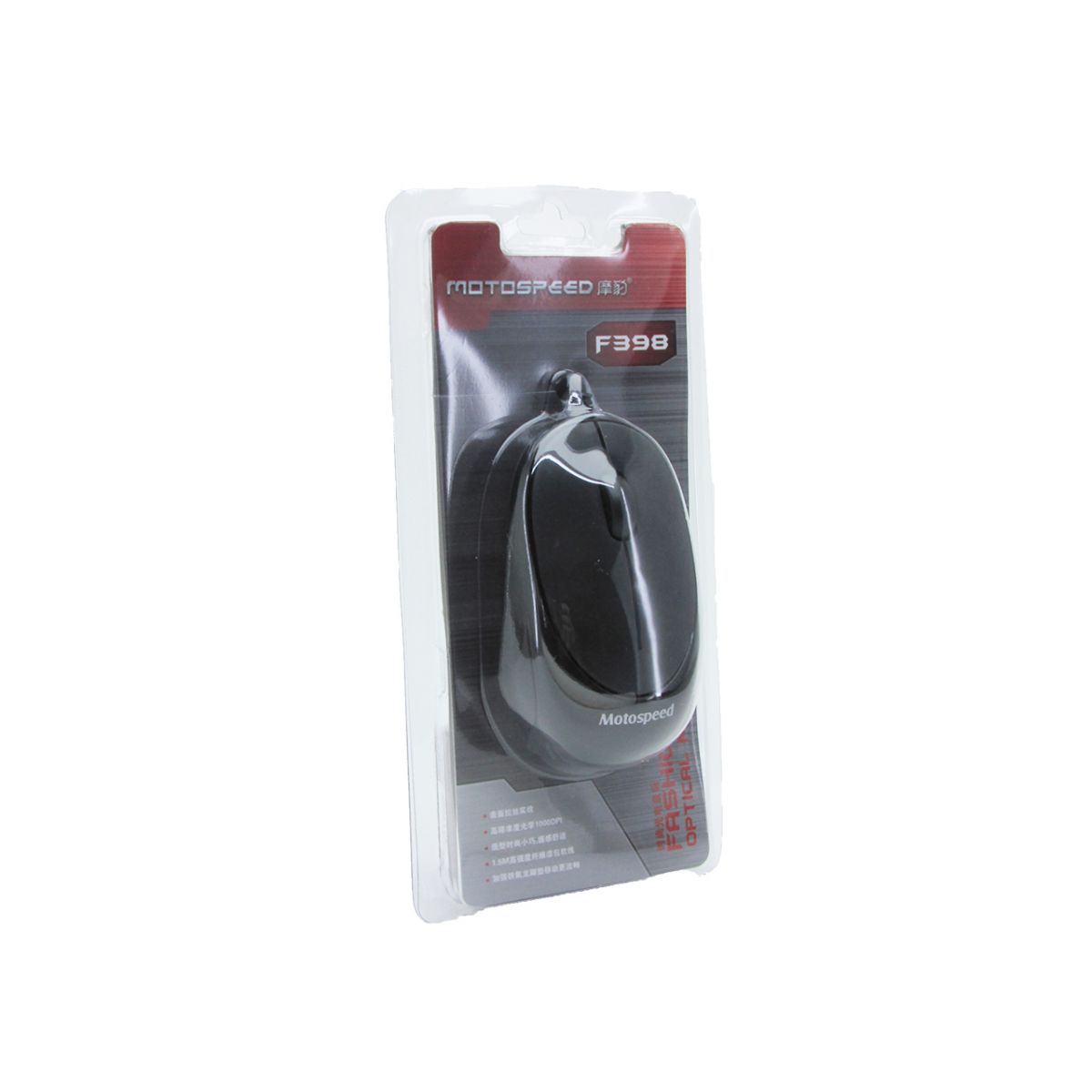 Mouse Óptico 3D F398 Motospeed