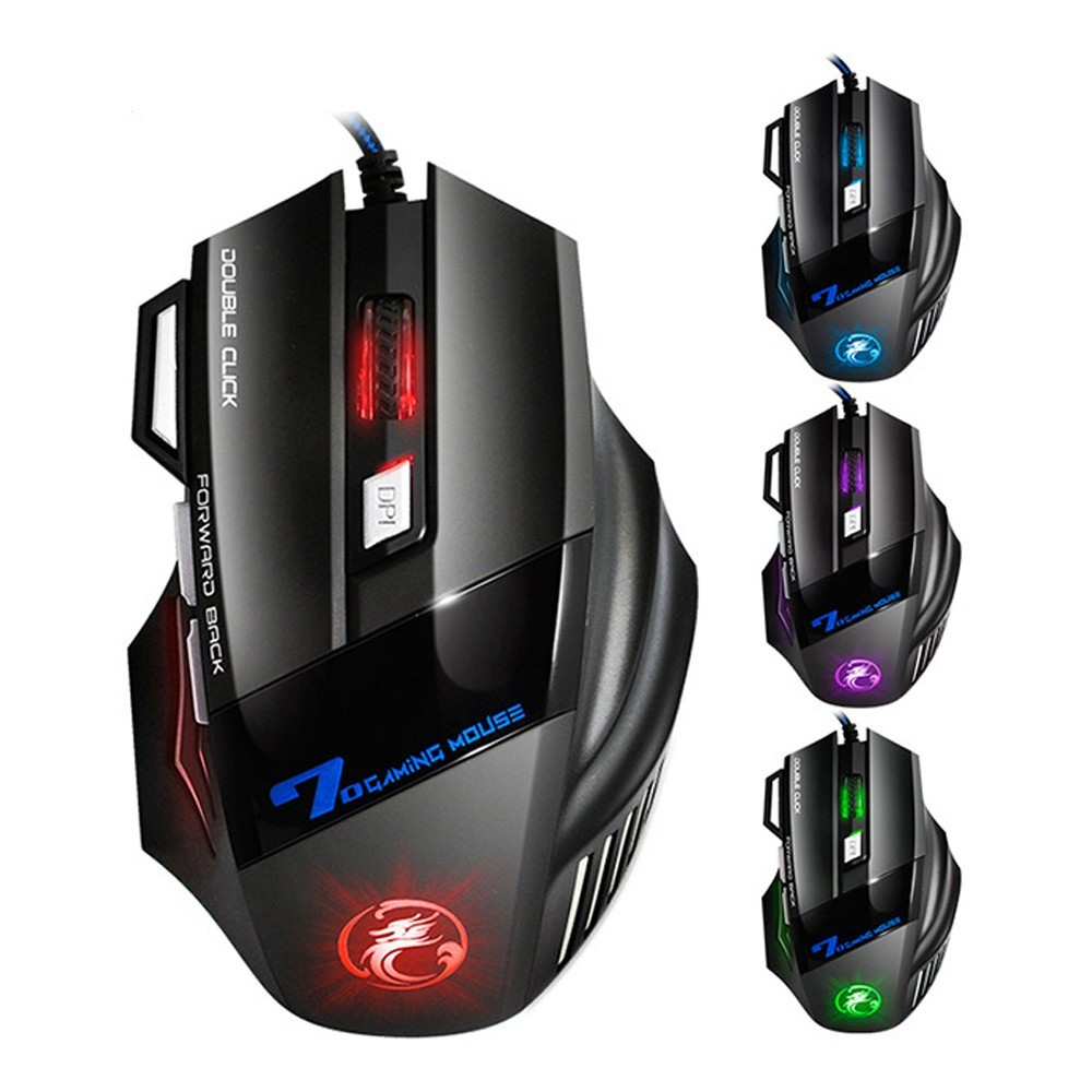 Mouse Optico GAMMING E-SPORTS X7 - iMICE