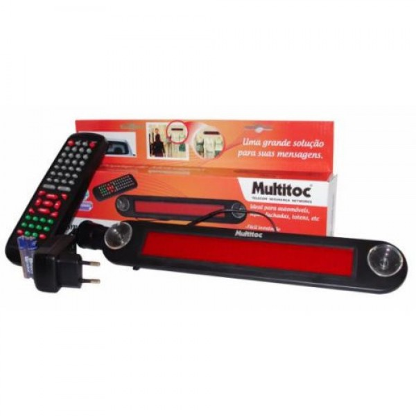 Multitoc Mini Display Programável de Mensagens