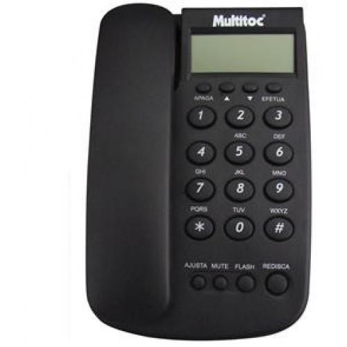 Multitoc Telefone Com fio Company ID Grafite