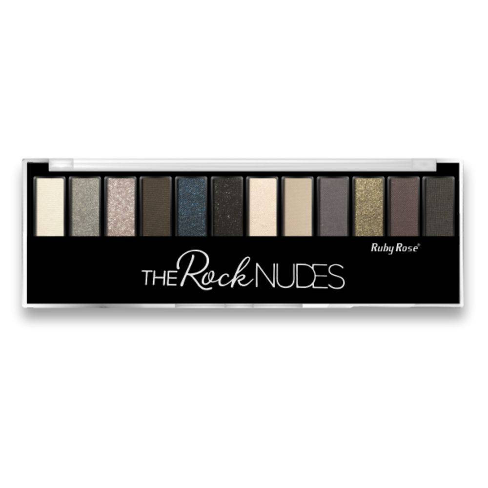 Paleta De Sombras Ruby Rose The Rock Nudes HB 9914