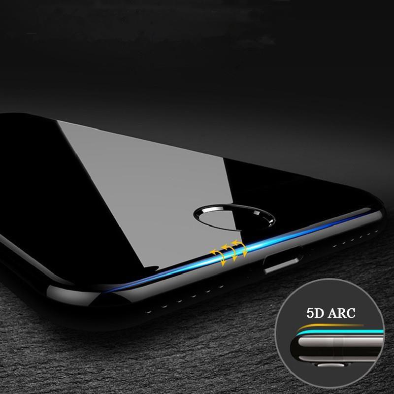 Película 5d Nano Gel Iphone 5 6 7 Plus 8 Xr Xs 6g 7g Todos