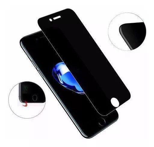 Película Vidro Temperado Privacidade Anti-Espião Iphone 5, 6 7 8, X, XS, XR, XS Max, 11