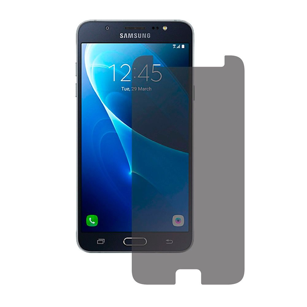 Película Vidro Temperado Privacidade Anti-Espião Samsung J4 J6 Plus J7 Prime J8