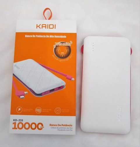 Power Bank Kaidi KD233 10.000 Mah Original Universal