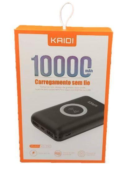 PowerBank Kaidi Sem Fio Kaidi KD-230 Original