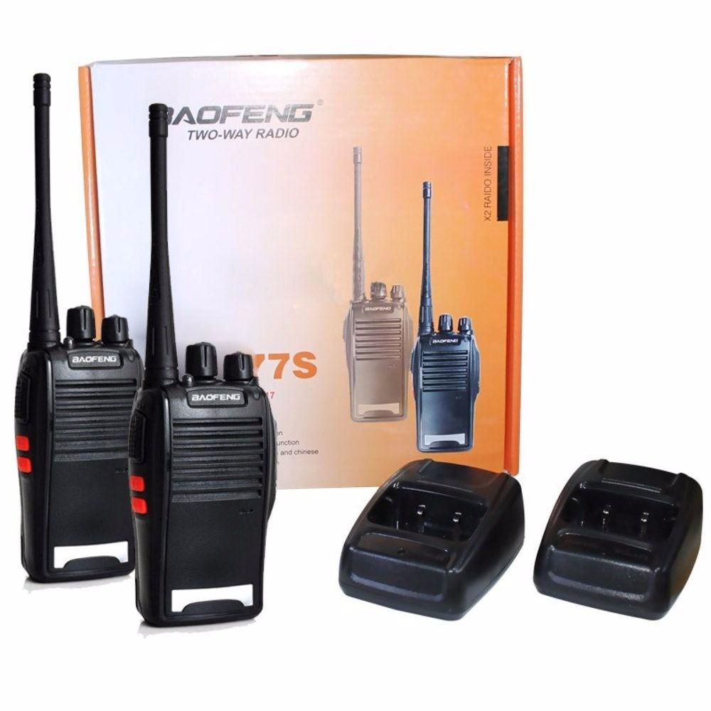 Rádio Comunicador (Par) Baofeng BF-777S