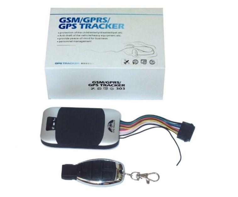 Rastreador Gps Gsm Tk-303g 303 303g Carro Moto Prov D'agua