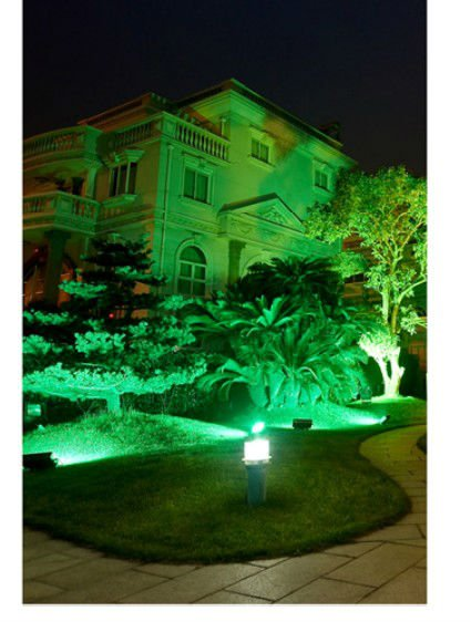 Refletor Holofote Super Led Verde 20W