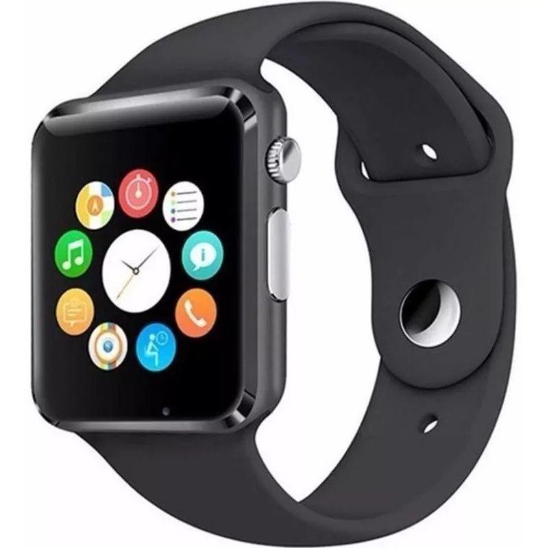 Relogio Bluetooth Smartwatch A1 Camera Celular Chip SD Card